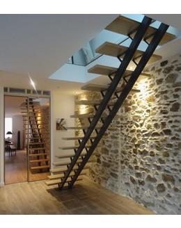 Маршевая лестница М6 без ограждений