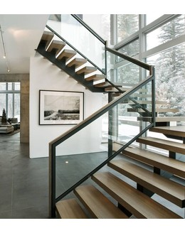 Маршевая лестница М11 на второй этаж