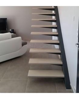Консольная лестница  К1 без ограждений