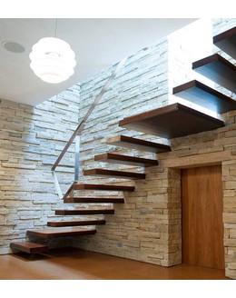 Консольная лестница К6 в стиле минимализм
