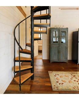 Винтовая лестница В3 с больцами