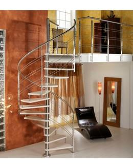 Легкая винтовая лестница В5