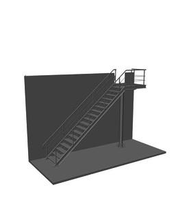 Пожарная лестница  ПЖ-3