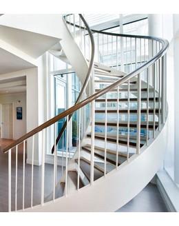 Кольцевая лестница КО-1 на тетиве