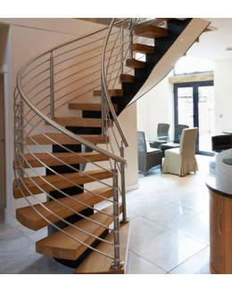 Кольцевая лестница КО-4 с монокосоуром
