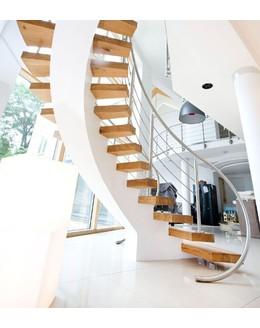 Кольцевая лестница КО-6 на монокосоуре
