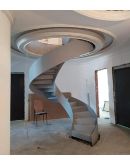 Кольцевая лестница КО-7 с внутренней тетивой