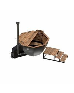 Банный чан ВОЕВОДА (3-4 чел) с боковой печью