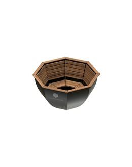 Банный чан ВОЕВОДА (3-4 чел) с обшивом