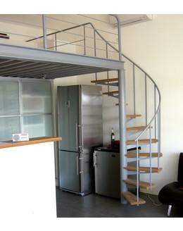 Винтовая лестница   В12 для маленьких помещений