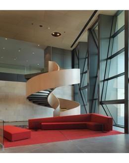 Кольцевая лестница КО-12 на тетиве