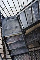 Ступени пожарной лестницы