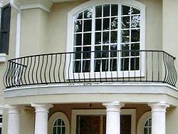 Кованые ограждения для балкона